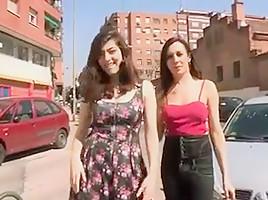 Threesome girl t-girl male