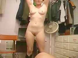 Hot amateur with pierced nipples fucked hard