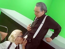 Crazy Shaved clip with Blonde,Mature scenes