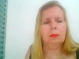 Teresa fatima studart Brasileira de 60 anos masturba-se por completo