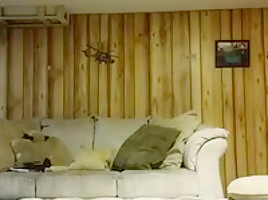 Straight bear fucks bbw on spycam