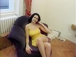 Amazing pornstar Beatrice Poggi in hottest brunette, cunnilingus porn movie