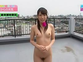 Best Japanese girl Chika Arimura, Anri Sugisaki in Horny Interview, Outdoor JAV scene