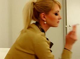 Hottest pornstars Alyssia Loop and Susan Snow in amazing blonde, anal porn movie