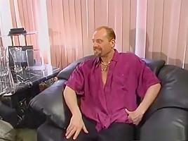 Exotic pornstar in amazing threesomes, facial porn clip
