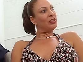 Exotic pornstar Vanessa Videl in incredible facial, brunette xxx movie