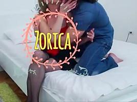 Serbian milf zorica to action