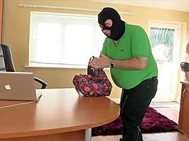 PUNISHING THIEF FAT MAN YUMMYY