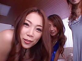 Amazing Japanese whore Maria Ozawa, Asami Ogawa, Haruka Sanada in Crazy Facial, Close-up JAV movie