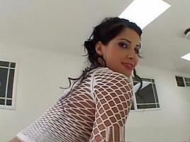 Fabulous pornstar Rebecca Linares in crazy lingerie, latina xxx video
