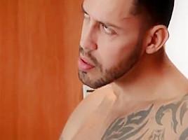 A Cummy Sensual Bareback Fucking Justin Cross Kyle Rhodes