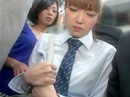 Japanese lesbian molester